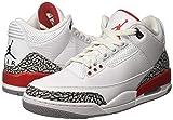 "Nike Jordan Retro 3""Katrina White/Fire Red-Cement"