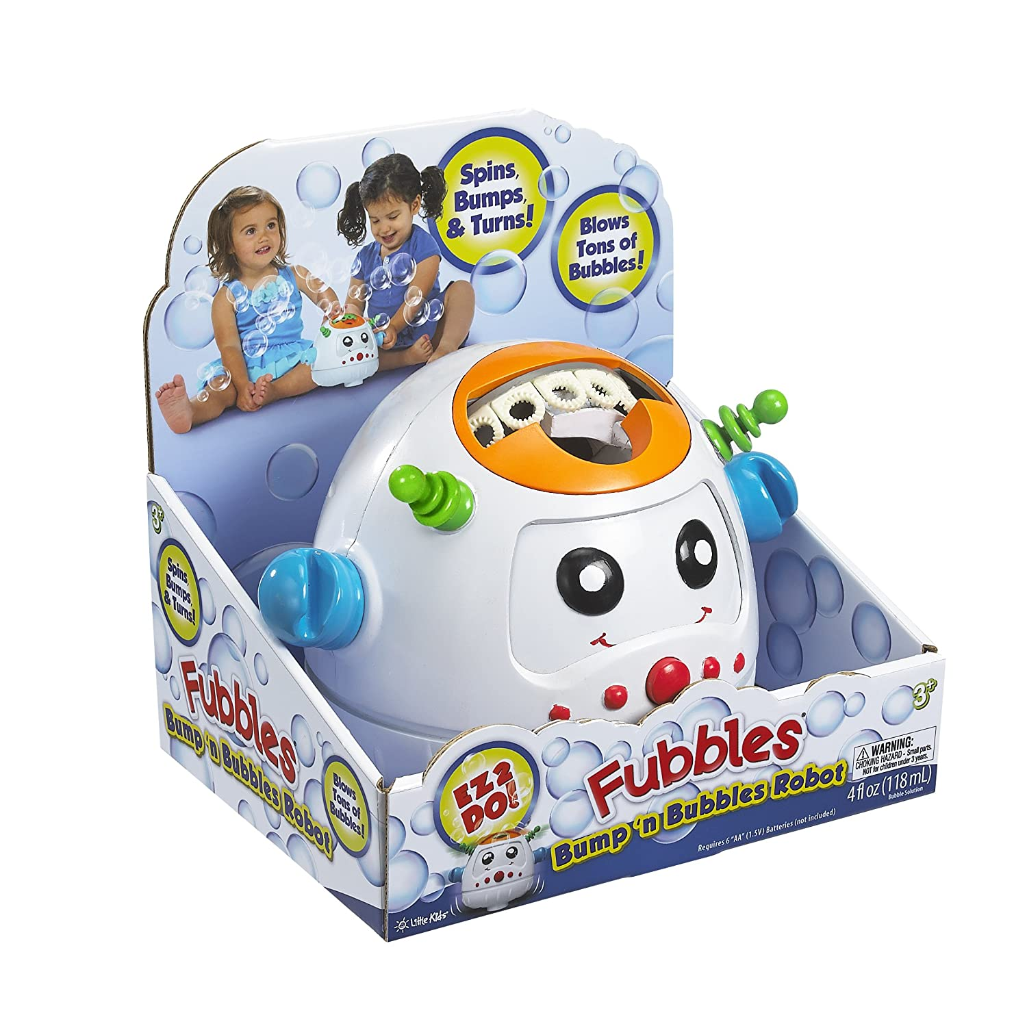 Amazon Little Kids Fubbles Bump n Bubble Robot Toys & Games