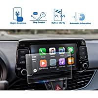 LFOTPP 2017 2018 Hyundai i30 Car Navigation Tempered Glass Screen Protector [High Clarity] Protect Your Eyes Center Touch Protective Film Anti Scratch 8 inch