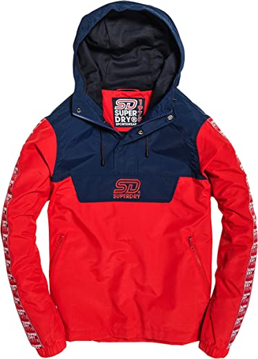 SuperDry 90S COLOUR BLOCK OVERHEAD JACKET
