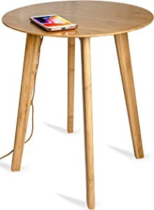 Fonesalesman - FurniQi Smart Qi Wireless Charging Wooden Coffee Table | Compatible with iPhone 11, 11 Pro, Samsung Galaxy S10, S10+, S10e, S9+, S9, Huawei P20 Pro, Google Pixel 4 & More.