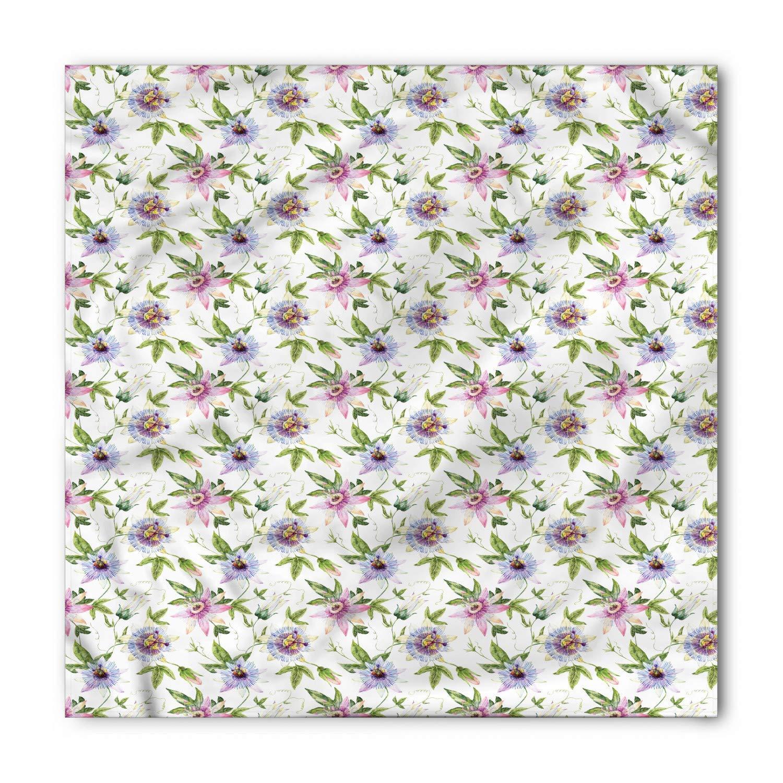 Soefipok Pañuelo floral, flores de la pasión de la acuarela ...