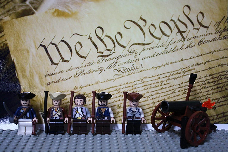 LEGO Revolutionary War era Minutemen Militia Soldiers Authentic Parts and Pieces