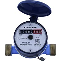 Konarak Water Meter 15mm Single Jet Class B