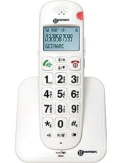 Extra Loud Cordless Phone DECT 50 dB CLARITYXLC34 Amazonco