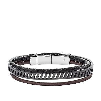 Fossil Men's Multicolour Bracelet JF02828040 Bf8cS
