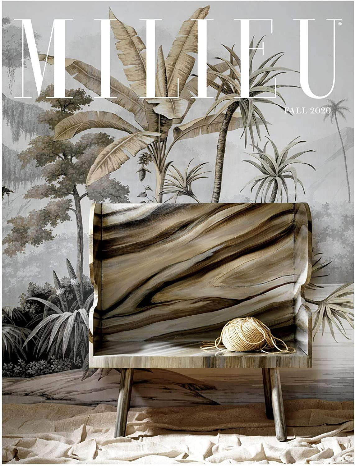 Milieu magazine fall 2020 cover. #milieumag #milieumagazine #cover #fall2020