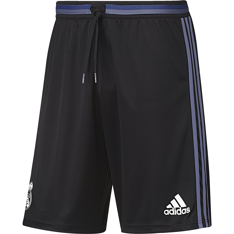 2016-2017 Real Madrid Adidas Training Shorts (Black) B01I1CTCNEBlack XS 30\