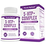 Premium 5-HTP Plus Supplement 250mg Max Strength - Serotonin Production Support, Aids Sleep, Mood Boost, Promotes Calm & Rela