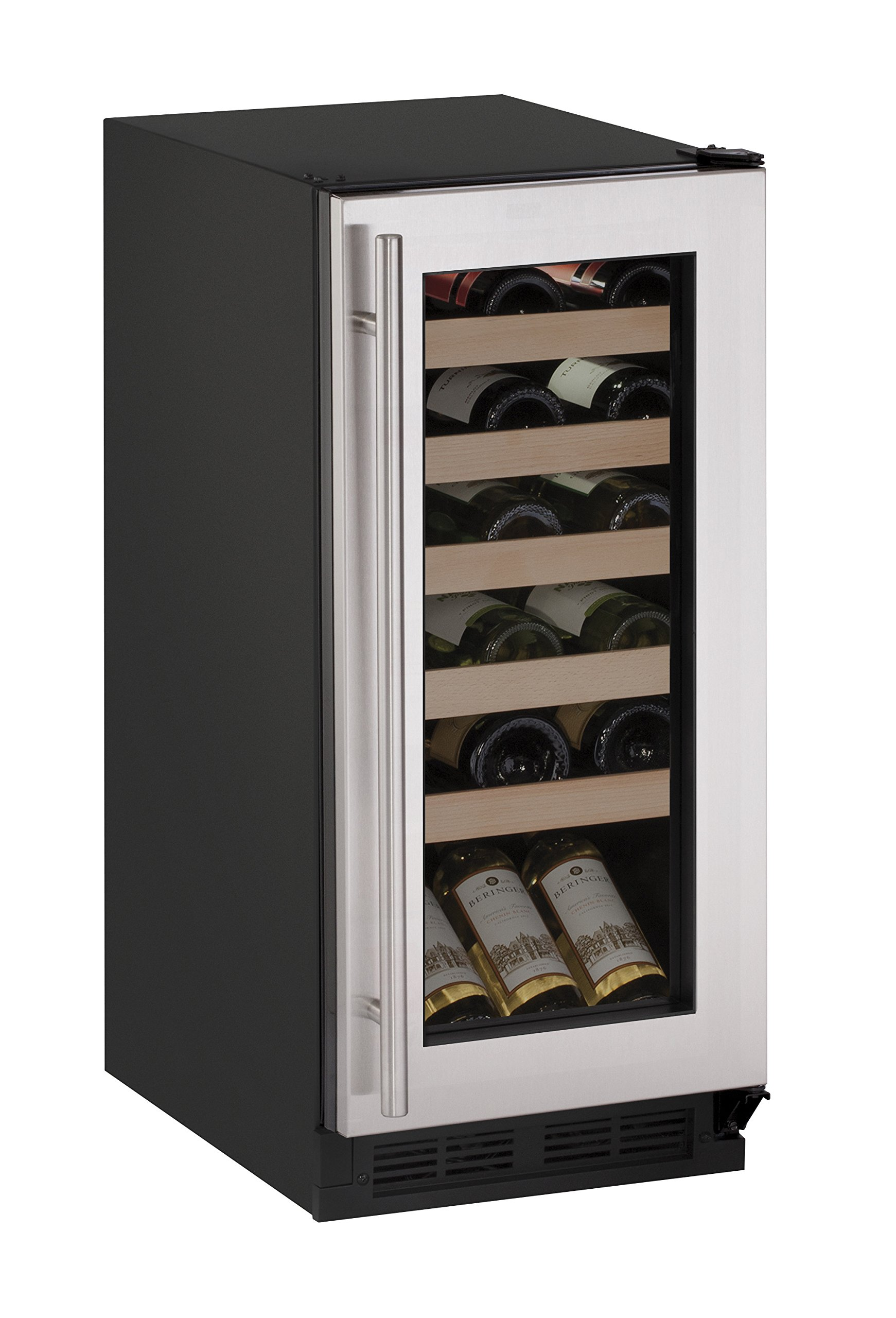 U-Line U1215WCS00A Built-in/Freestanding Wine Storage, 15'', Stainless Steel by ULINE