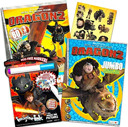 20 How to Train Your Dragon 3 Hidden World STICKERS Party Favors Supplies