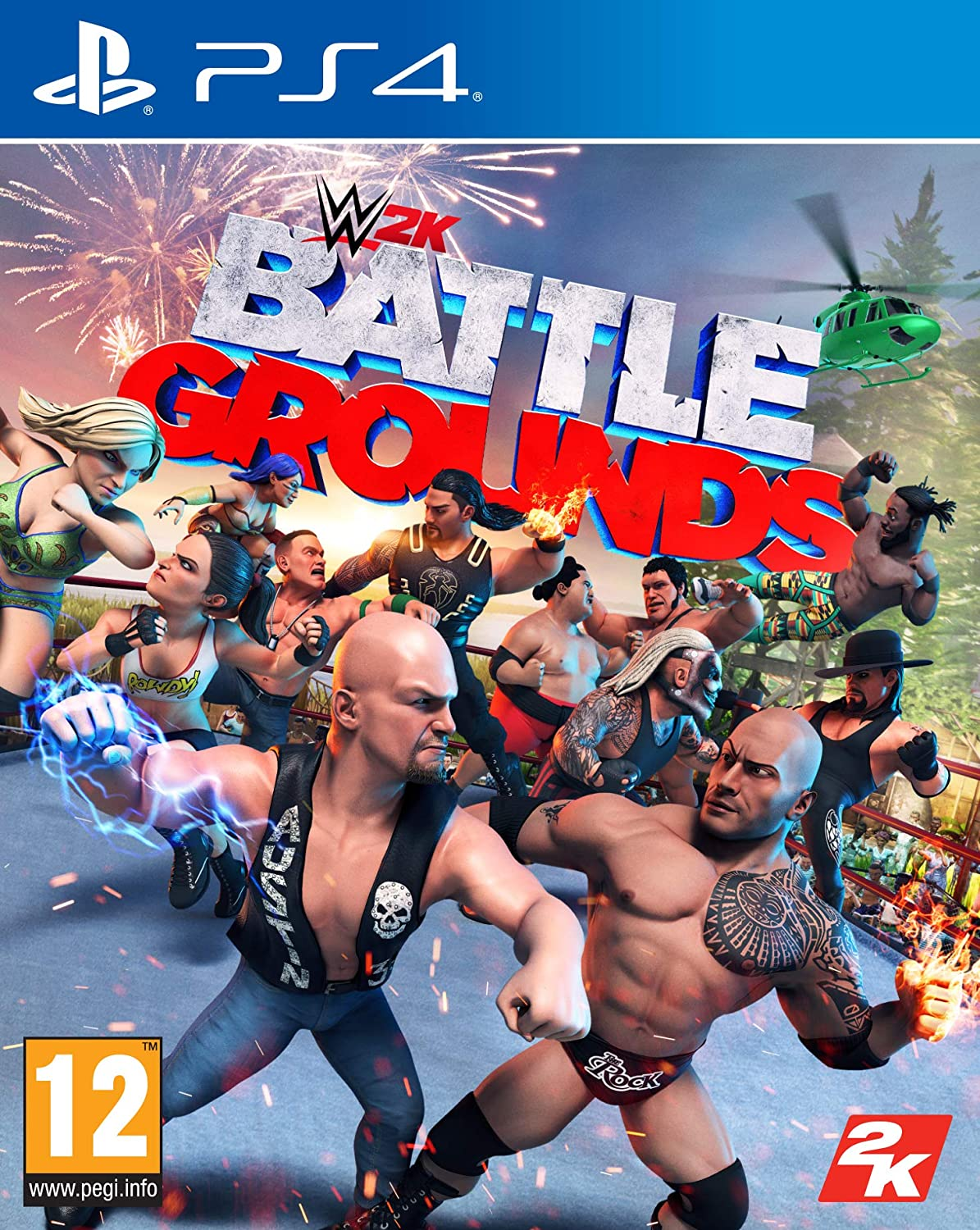 WWE 2K Battlegrounds Arabic