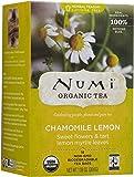 Numi Organic Tea Chamomile Lemon Herbal, 18 ct