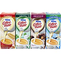 Coffee-Mate Singles Flavor Variety Pack, 50 Count, 4 Pack - 200 Count