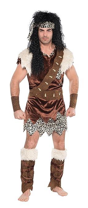 Christy`s - Disfraz de neandertal para hombre, talla 42 inch ...