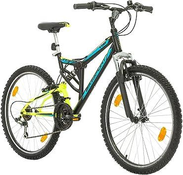 Bikesport Parallax Bicicleta De montaña Doble suspensión 26 Ruedas ...