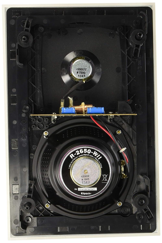 Amazon.com: Klipsch R-2650-W II In-Wall Speaker - White (Each): Home ...