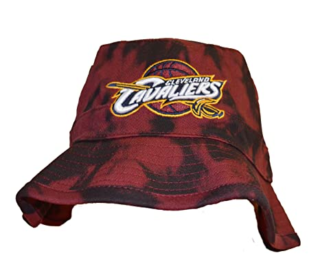 Mitchell   Ness  Mens Cleveland Cavaliers Acid Wash Bucket Hat - NBA  Fishing Cap ( 66b6c6d08e2