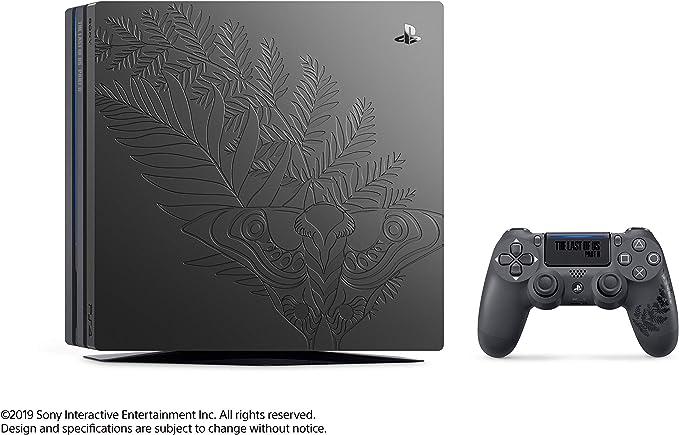 PlayStation 4 Pro (PS4) - Edición Limitada The Last of Us Pate II: Amazon.es: Videojuegos