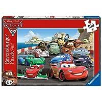 Ravensburger - 10615 - Puzzle Enfant Classique - Cars 2 -100 Pièces  XXL