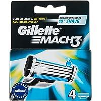 Gillette mach-3 Cartridge – Pack de 4