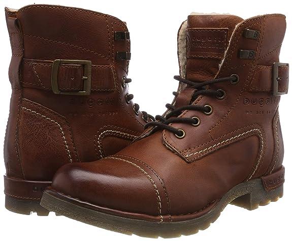 bugatti Herren 321347521200 Klassische Stiefel Kurzschaft Stiefel
