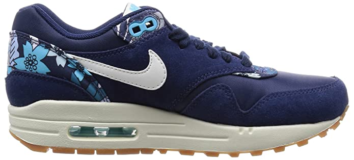 9a860cab5d Amazon.com | Nike Air Max 1 Print, Women's Low-Top Sneakers | Shoes
