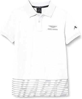 Hackett London Amr Solid SS Y Camisa Polo para Niños