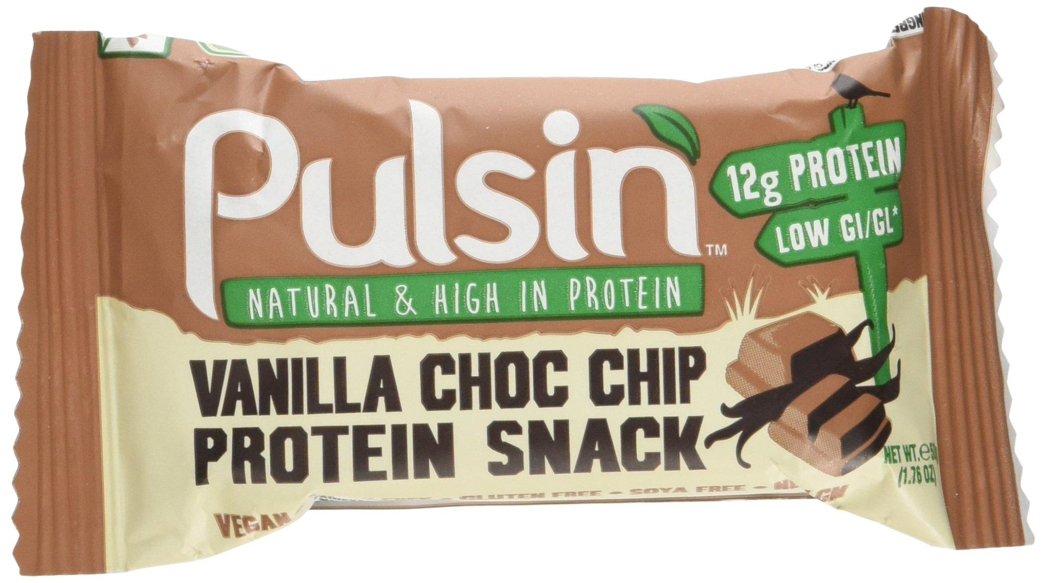 Pulsin' Bar, Vanilla Choc Chip, 2.13 Pound