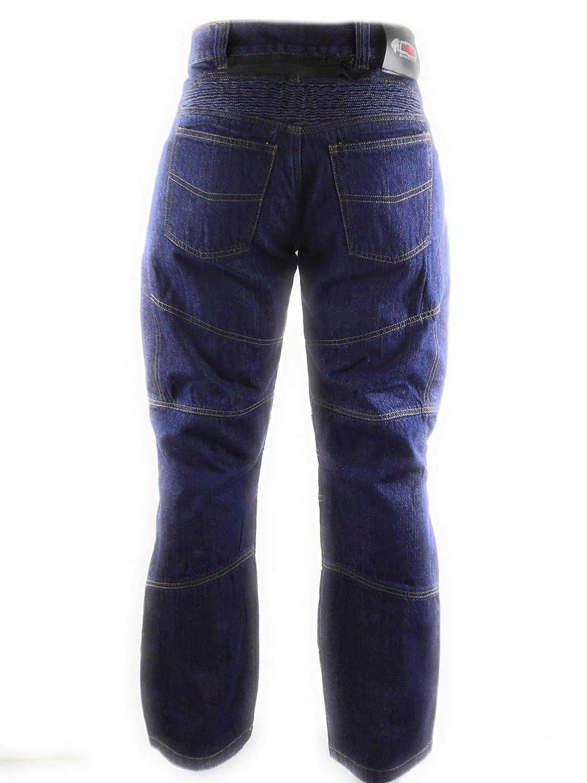 Amazon.es: Zerimar KENROD Pantalones Vaqueros de Motocicleta ...