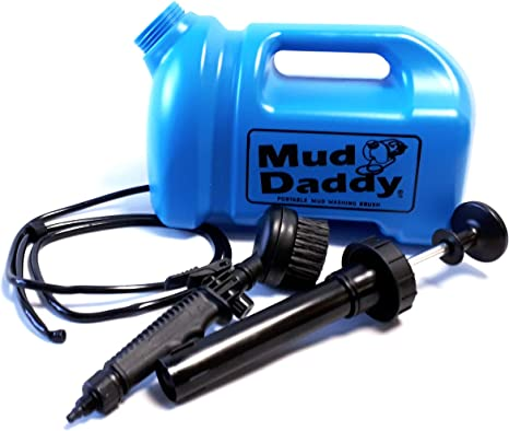 5Ltr in Blue Mud Daddy 99000DS1BLUE Portable Mud Washing Brush