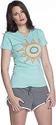 359b27d27 Women's Morod Tribal Sun Crew-Neck Baby Graphic Tee (OML017)