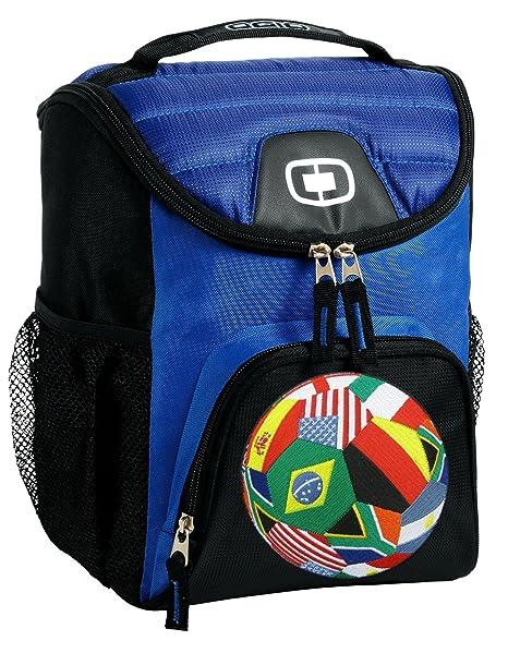 b8485d7b9b7 Amazon.com  Flags Soccer Lunch Bag Soft Cooler Flag Soccer Ball Best ...