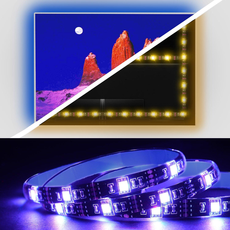 USB LED rétroéclairage TV Kit avec télécommande e54e67cdc55