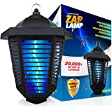 Livin Well Electric Bug Zapper Outdoor, Mosquito Zapper, Insect Killer Fly Traps, Hanging Bug Light for Patio, XL 20W UV Bulb