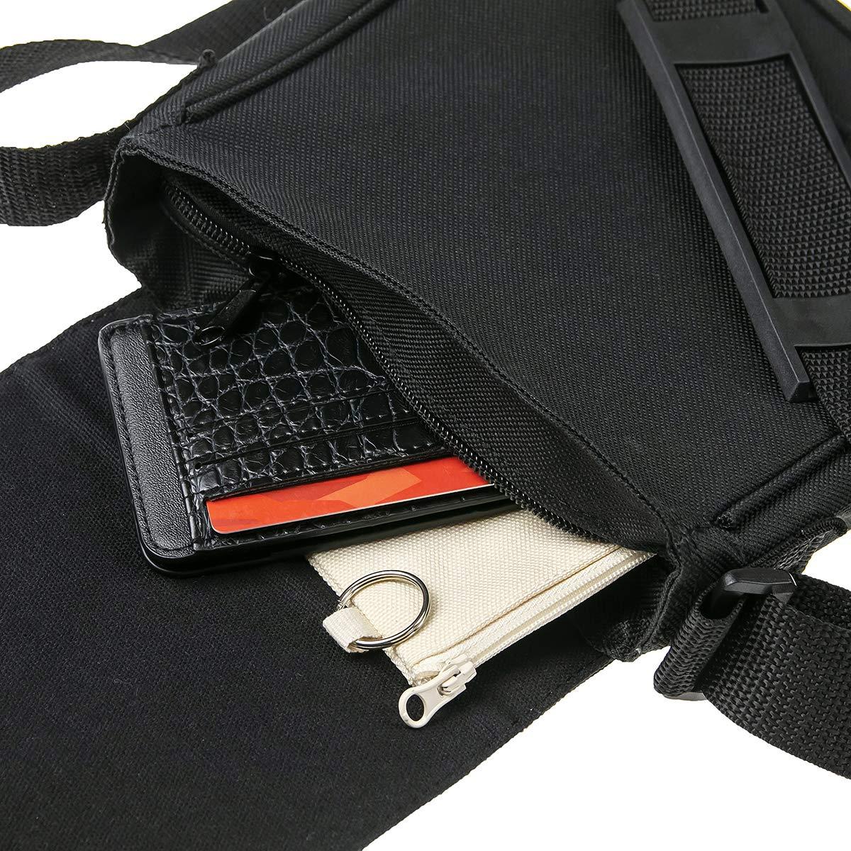 Run Stranger Things Alphabet Sac port/é /épaule Homme Sacoche Bandouliere Unisex Shoulder Bag