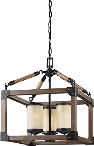Sea Gull Lighting 3113303-846 Dunning Three-Light Chandelier Hanging Modern Fixture