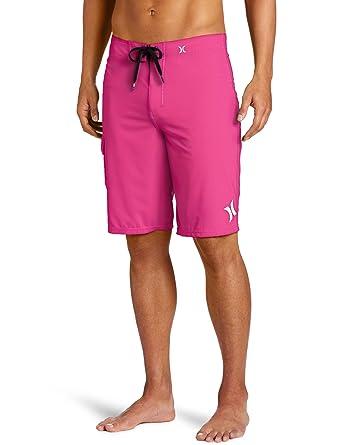 2d523825ad Amazon.com: Hurley Men's Phantom 60 Solid Men's Boardshort, Neon ...