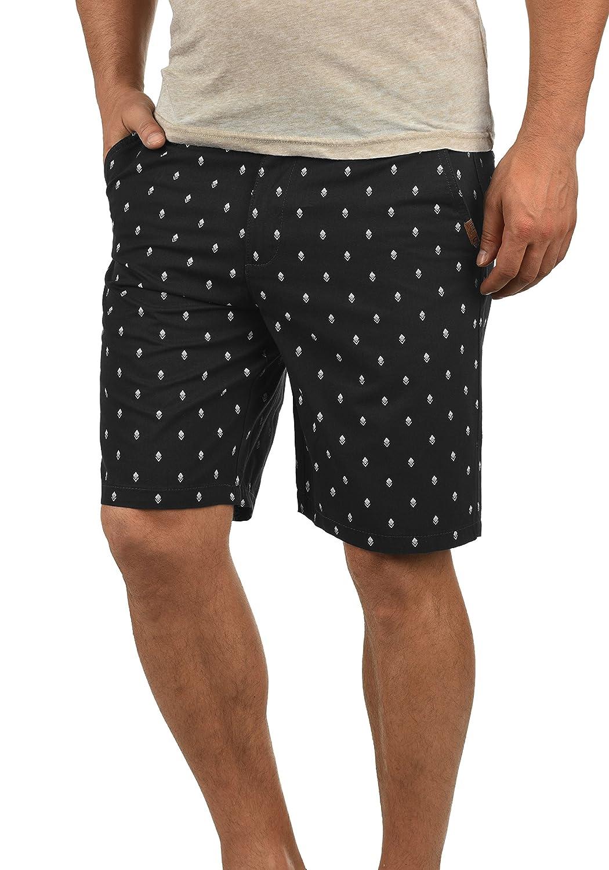 TALLA L. !Solid Themo Chino Pantalón Corto Bermuda Pantalones De Tela para Hombre De 100% algodón Regular-Fit