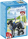 Playmobil - 5210 - Jeu de Construction - Dogue Allemand et son Petit