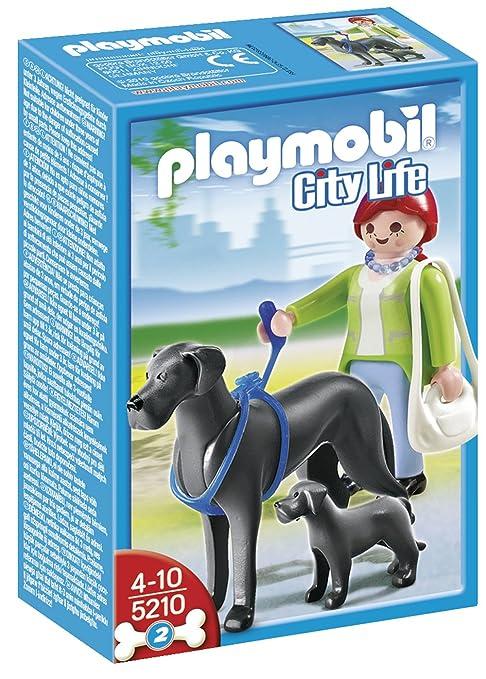 Playmobil - Gran danés con cachorro (5210)