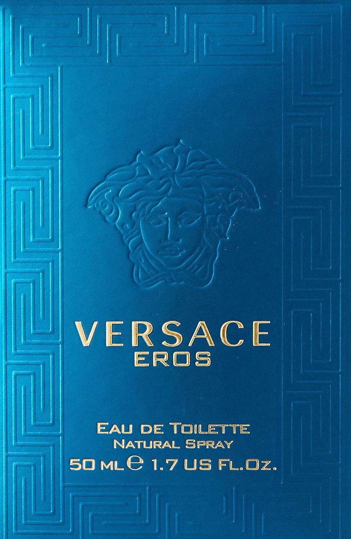 Versace Eros Eau de Toilette Vaporizador 50 ml