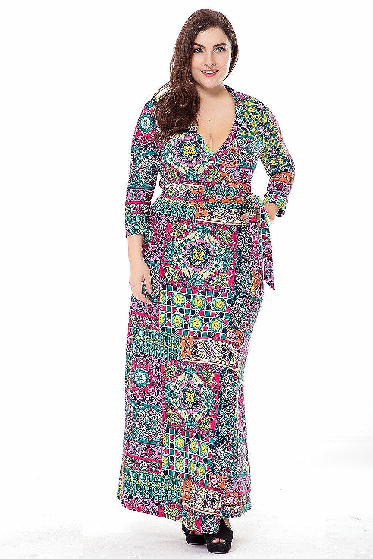 Muslim Women Long Sleeve Dress Islamic Clothing Dubai Kaftan Plus Size Maxi Casual Abaya Turkish Caftan