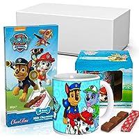 JT Paw Patrol Kakaotasse gefüllt mit Paw Patrol Schokoriegeln in Geschenkbox