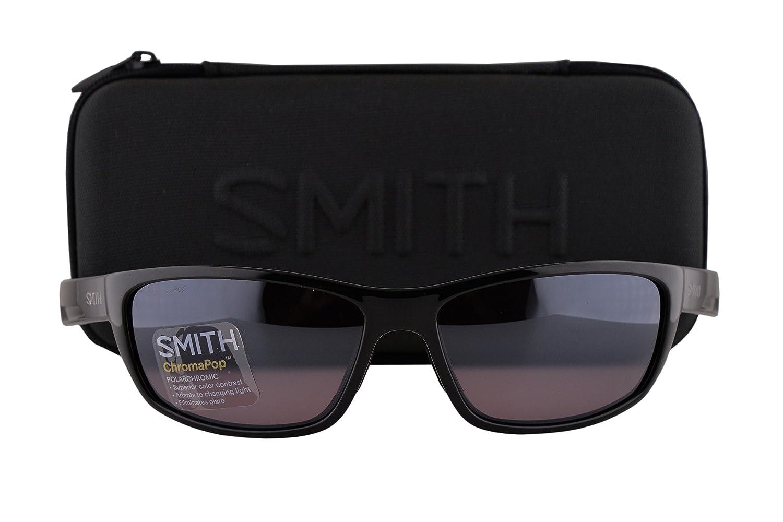 e6dd2315b18b delicate Smith Ridgewell Sunglasses Black w Polarized ChromaPop  Polarchromic Ignitor Lens D28