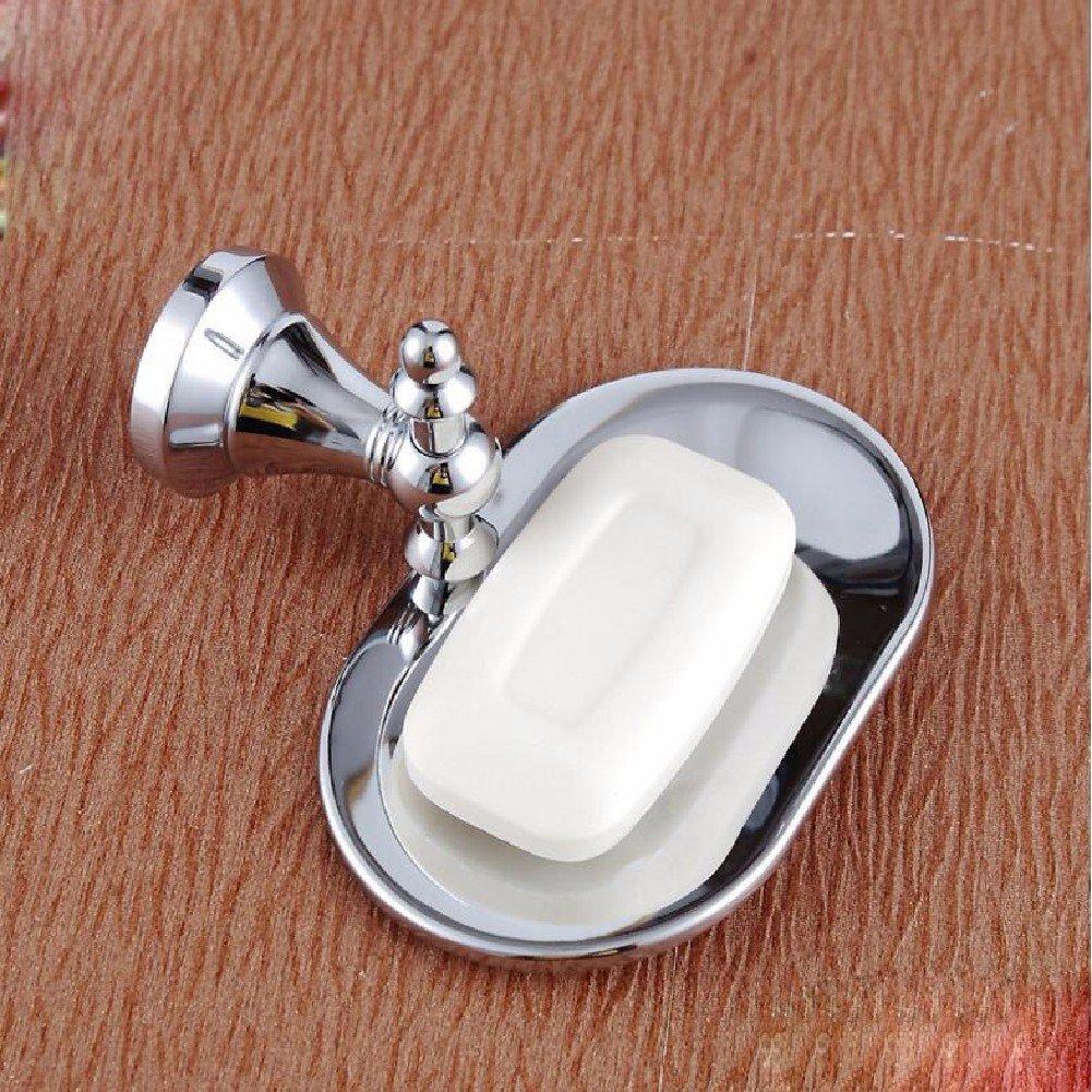 HQLCX Full copper basket, gold antique soap dish, bronze soap basket, soap net,A