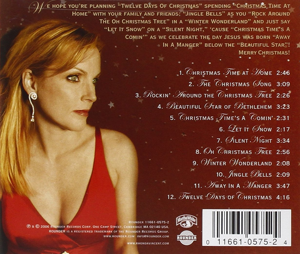 Rhonda Vincent - Beautiful Star: The Christmas Collection - Amazon ...