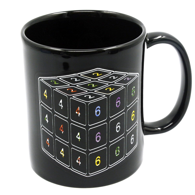 Calor mágico cubo sensible Patrón Color cambiante taza de cerámica...