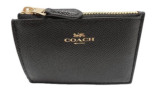 Coach - Cartera para mujer de Piel Mujer negro negro S: Amazon.es: Zapatos y complementos
