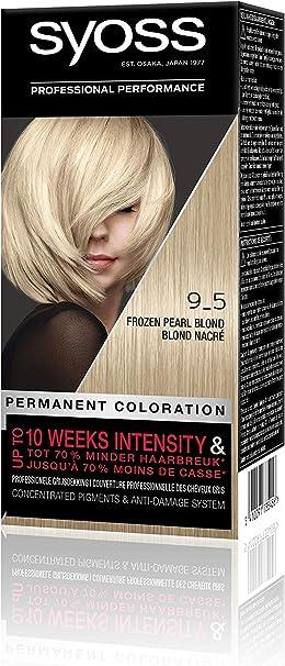 Syoss Color Baseline 9-5 - Tinte para el pelo, color rubio ...